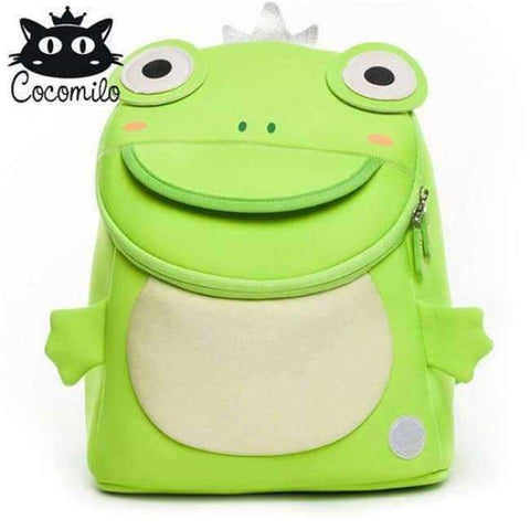 Planet Gates KZ106 Cocomilo Cute Animal Pattern School Bags Baby Kids Small Bag For Girls Boys Cartoon Children Anti-lost Bag Kindergarten Backpack