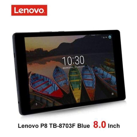 Planet Gates lenovo P8 blue wifi / add Case n Film Lenovo P8 8.0 inch Tablet PC Snapdragon 625 2.0GHz Octa Core 3GB RAM 16GB ROM Android 6.0 TB-8703F wifi 4250mAh