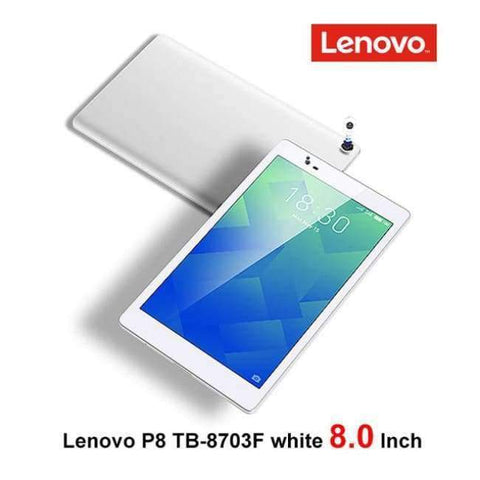 Planet Gates lenovoP8  white wifi / add Case n Film Lenovo P8 8.0 inch Tablet PC Snapdragon 625 2.0GHz Octa Core 3GB RAM 16GB ROM Android 6.0 TB-8703F wifi 4250mAh