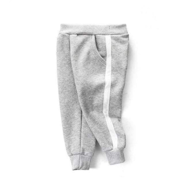 Planet Gates Light Gary / 3T School Boys Girls Spring Autumn Sports Pants Toddler Baby Kids Trousers Teenage Children Cotton Clothes Sweatpants 2-10Y T27