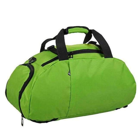 Planet Gates Light Green Portable Sports Gym Backpack Shoulder Bag Separated Shoes Storage Travel Backpack Men And Women Outdoor Fitness Bag