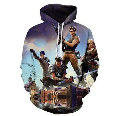 Image of Planet Gates LMS901 / 4XL Fortnite Llama Hoodies 3D Men's Hoodie Print Streetwear Sweatshirt Pullover Casual Tracksuit Male Clothes Drop Ship ZOOTOP BEAR