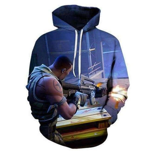 Planet Gates LMS902 / 4XL Fortnite Llama Hoodies 3D Men's Hoodie Print Streetwear Sweatshirt Pullover Casual Tracksuit Male Clothes Drop Ship ZOOTOP BEAR