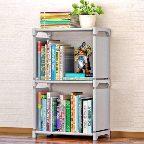 Planet Gates Lucky Cherry Minimalist Modern Creative Home Decoration Removable Assembly 2 Grids Stainless Steel Book Shelf Living Room Storage Furniture