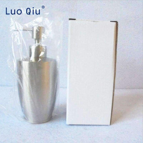 Image of Planet Gates Luo Qiu Stainless Steel Kitchen Bathroom Liquid Hand Pump Soap Dispenser Lotion Detergent Bottle Bathroom Accessories Modern