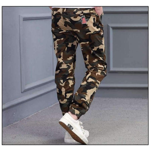 Image of Planet Gates M707 Blue / 8 Teenage Boy Clothing Kids Camouflage Trousers Kids Pants Boys Trousers Camo Pants Boys Military Pants Big Size 8 10 12 14 16