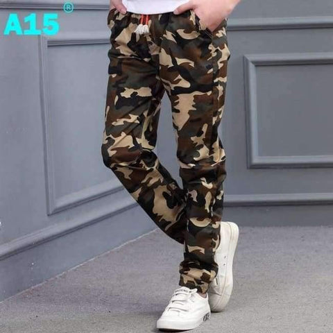 Image of Planet Gates M707 Green / 8 Teenage Boy Clothing Kids Camouflage Trousers Kids Pants Boys Trousers Camo Pants Boys Military Pants Big Size 8 10 12 14 16
