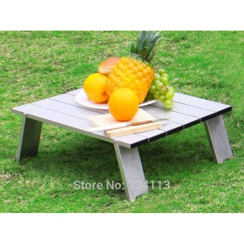 Planet Gates MEIBIN Ultralight table Outdoor mini folding portable table picnic table light aluminum travel table for wild camping
