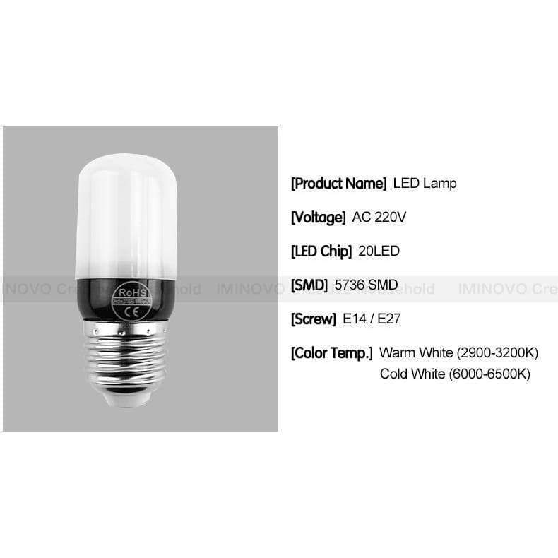 Planet Gates Milky Bulb E14 / 33LEDs / Cold White LED Light E27 Lamp E14 LED Bulb Corn 20 30 46 81 100 LEDs Lampada SMD5730 220V Corn Bulb Chandelier Candle Spotlight Home Decor