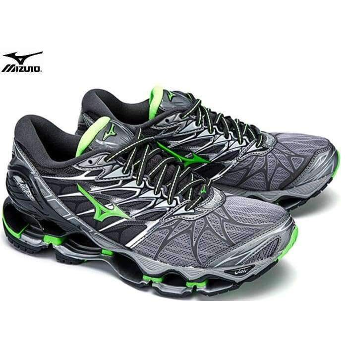 pretty nice 31197 3eb9a MIZUNO WAVE Prophecy 7 professional Men Shoes Outdoor sneakers Breathable  Mesh Weightlifting Shoes 3 Color Best