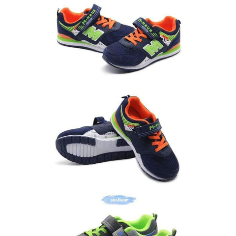 Planet Gates ML310K-2 / 1 / Russian Federation Boys Sneakers Children Sneakers Boys Shoes Breathable Children Shoes for Boys Sport Shoe Aged 8-12 Size 32-37 ML310