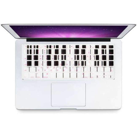 Planet Gates Music Piano keys HRH Stylish Korean Language USA Silicone Keyboard Cover Protector Skin for Macbook Air 13 Pro Retina 13 15 17 Laptop Accessory