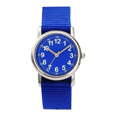 Planet Gates navy blue Watches Kid nylon Straps Wristwatch Children Quartz Watch Cute Clock