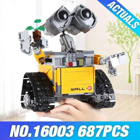 Planet Gates New in Sealed Bag / China Idea Robot WALL E 21303 Toys Model Building set Self-Locking Bricks Blocks DIY Children Educational Birthday Gifts