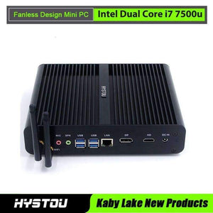 Planet Gates No Storage / No Ram HYSTOU Kabylake Mini PC Windows 10 Intel Dual Core i7 7500u Intel HD 620 Wifi Bluetooth Mini Computer Micro PC 4K HTPC Nettop