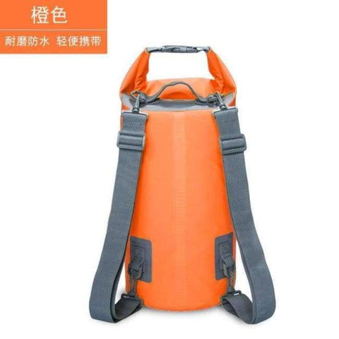 Planet Gates Orange 15L Swimming Waterproof Bags Storage Dry Sack Bag For Canoe Kayak Rafting Outdoor Sport Bags Travel Kit Equipment