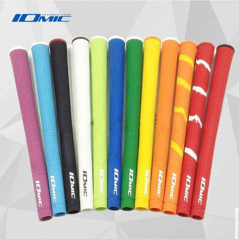 Planet Gates Orange Golf grip IOMIC high quality rubber Golf irons grips 9 pcs/lot black color Golf driver grips Free shipping
