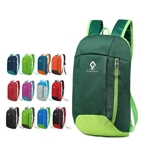 Planet Gates Orange Gym Cycling Bag Women Foldable Backpack Outdoor Kids Mini Sports Luggage Bag Fitness Climbing Men Sport Bags 10L