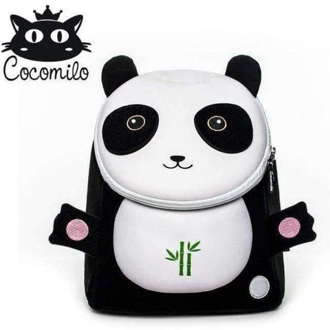 Planet Gates panda Cocomilo Baby 3D Model whale Kids Baby Bag Anti Lost School Bags for 2-6 Years Boys and Girls Bagpack Waterproof Backpack light