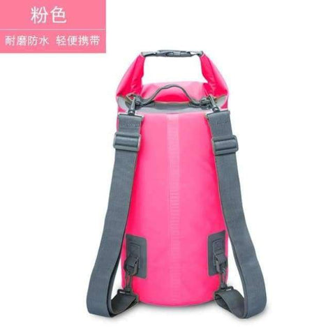 Planet Gates pink 15L Swimming Waterproof Bags Storage Dry Sack Bag For Canoe Kayak Rafting Outdoor Sport Bags Travel Kit Equipment