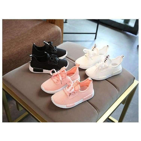 Planet Gates Pink / 8.5 Spring Autumn Kids Shoes  Fashion Mesh Casual Children Sneakers For Boy Girl Toddler Baby Breathable Sport Shoe