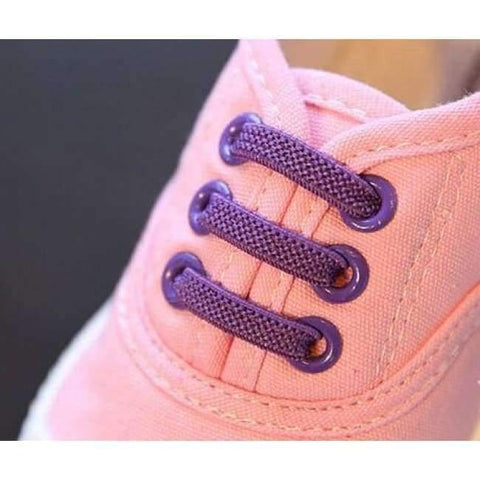 Image of Planet Gates Pink / 8 Kids Girls Boy's Fashion Canvas Shoes Breathable Sneakers Shoe For Children Size 21-30 Flats Heels Casual Shoes