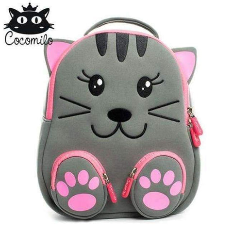Planet Gates PKZ104 Cocomilo Cute Animal Pattern School Bags Baby Kids Small Bag For Girls Boys Cartoon Children Anti-lost Bag Kindergarten Backpack