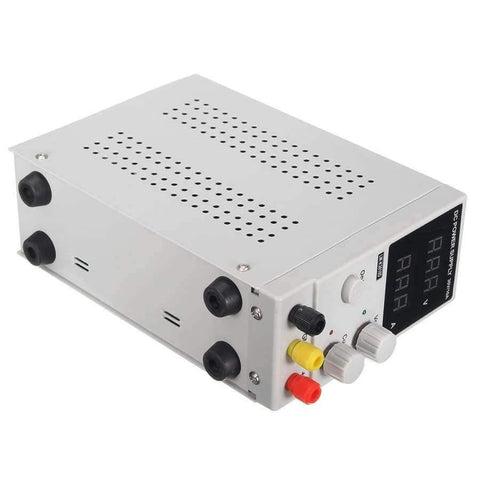 Planet Gates Quality 0-10A 0-30V 220V LCD DC Power Supply Adjustable Precision Variable Digital Lab