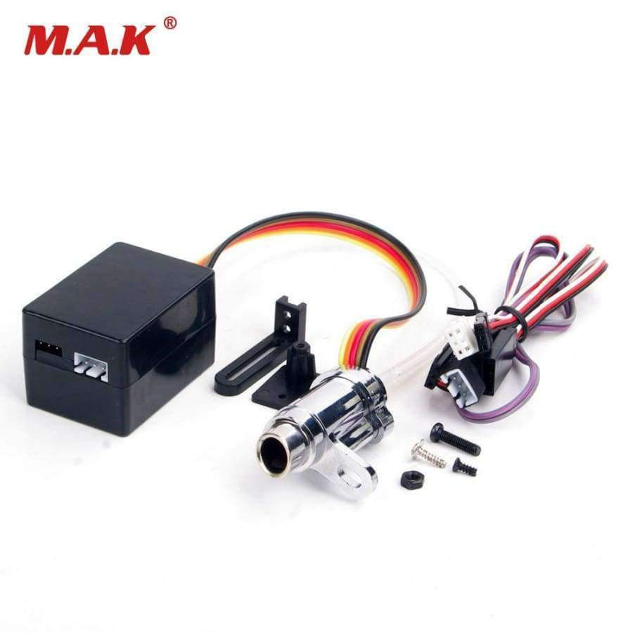 RC Car Parts Upgrade Electronic 1/10 Simulation Smoke Exhaust Pipe Tubing  Parts RC 1:10 Model Car Accessories