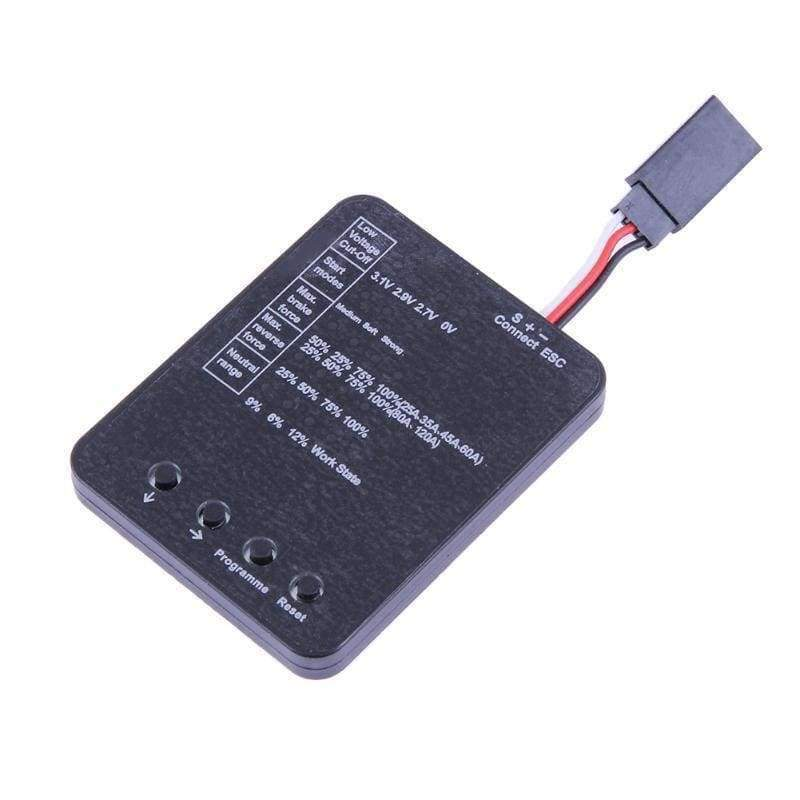 RC Toys Programming Card for ESC Brushless Electronic Electronic Speed  Controller RC Parts Accessories
