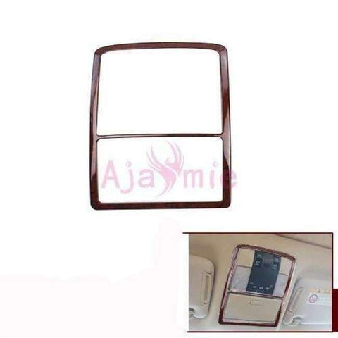 Image of Planet Gates Reader Lamp cover For Toyota Land Cruiser 150 Prado LC150 FJ150 2010-2017 Interior Wooden Cover Trim Chrome Package Car Styling Accessories