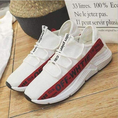 Planet Gates Red 1 / 6.5 ELGEER 2018 Casual Shoes Men Breathable Autumn Summer Mesh Lovers Shoes Brand Femme Chaussure Ultras Boosts Superstar Sneakers