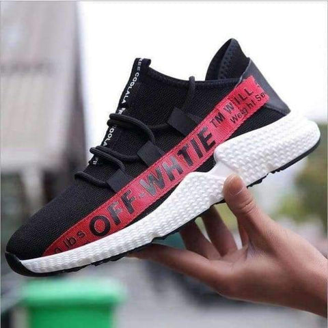 Planet Gates Red / 6.5 ELGEER 2018 Casual Shoes Men Breathable Autumn Summer Mesh Lovers Shoes Brand Femme Chaussure Ultras Boosts Superstar Sneakers