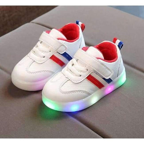 Image of Planet Gates Red / 6.5 Fashion cool noble shoes children Lovely LED glowing high quality baby boys girls shoes sports kids running sneakers