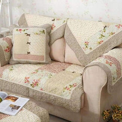 Home Decor Throw Pillow Beaded 2 Pcs Indian Sofa Cushion Cover Cotton Case 2575