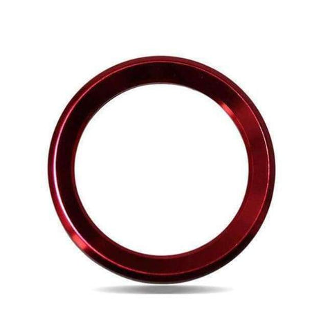 Image of Planet Gates Red Car Styling Steering Wheel Logo Emblems Ring Decoration Sticker For Skoda Octavia 2 a 7 a7 a5 Rapid Fabia Superb Car Accessories