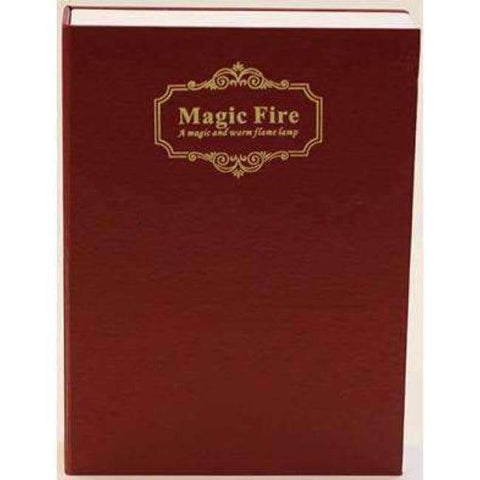 Image of Planet Gates Red HMDVIDA LED flame table Lamp magic fire book light gift night light