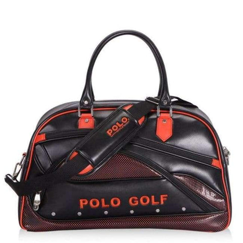 Planet Gates Red New Genuine Polo Brand Golf Bag for Men's Clothing Bag Women PU Bag Large Capacity High-quality