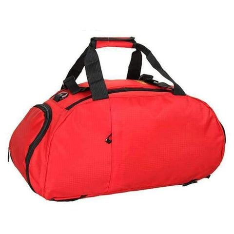 Planet Gates Red Portable Sports Gym Backpack Shoulder Bag Separated Shoes Storage Travel Backpack Men And Women Outdoor Fitness Bag