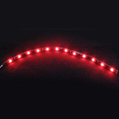 Image of Planet Gates Red White Yellow Red Blue Green 15 SMD 30CM 2835 LED Strip Light Flexible Car Decor Motor Truck Motorcycle Decoration