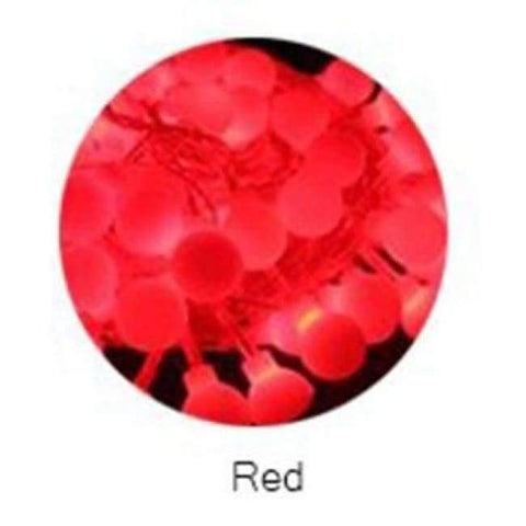 Image of Planet Gates Red YINGTOUMAN 10m 80led String Lights AC200V Ball Lighting Holiday Decoration Lamp Festival Christmas Light