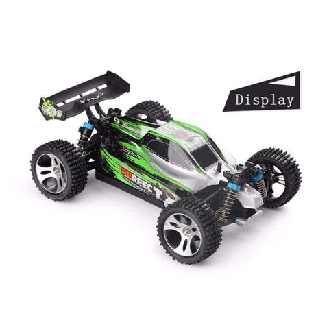 Planet Gates Remote control car WLtoys A959 2.4G 1/18 ratio remote control off-road racing high-speed stunt SUV toy gift boy RC mini car part