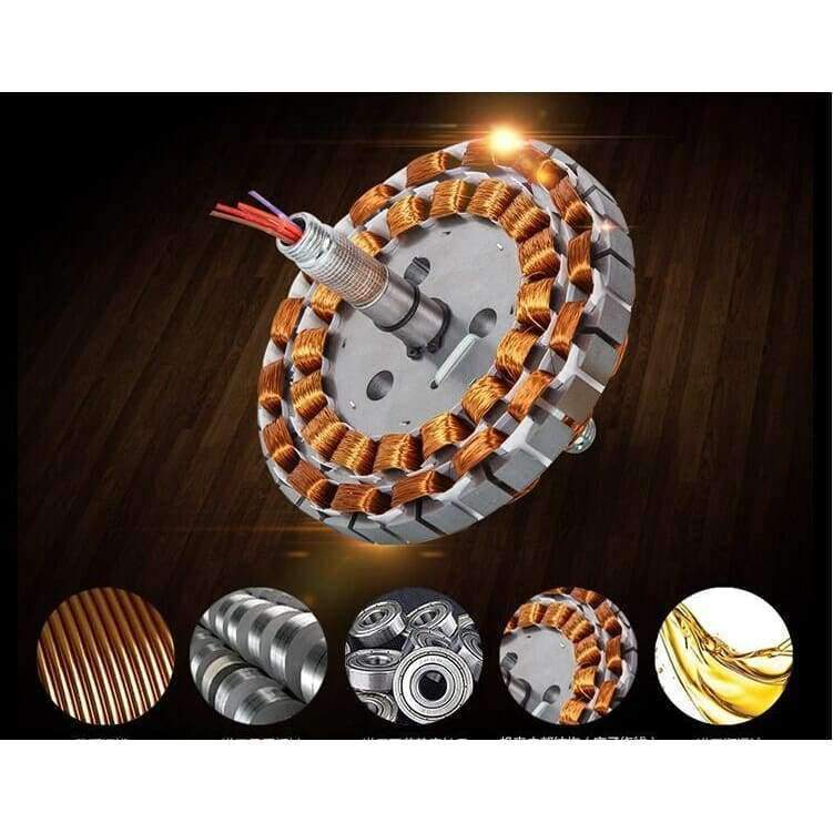 Planet Gates Retro decorative ceiling LED Ceiling Fan With Lights Remote Control  110-240 Volt Fan Light Bulbs Bedroom Fan Lamp Free Shipping
