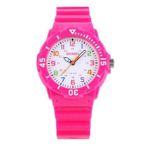 SKMEI Fashion Children Watches 50M Waterproof Quartz Wristwatches Jelly Kids Clock Hours Boys Girls Junior Students Sport Watch