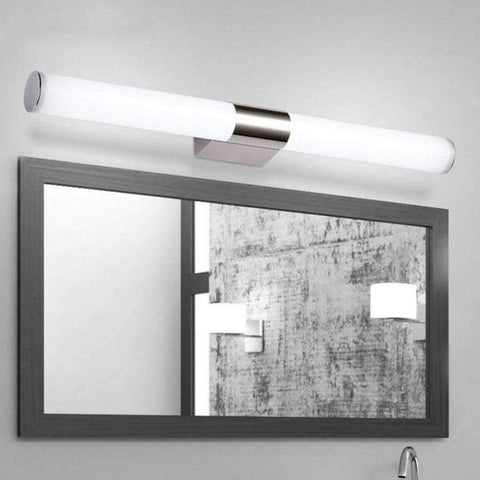 Planet Gates Silver 5W 25CM / Cold White LED Wall Lamp Mirror Light Telescopic Waterproof Bathroom 6W 44CM 8W 55CM Indoor Lighting Fixture Decor Makeup Dresser 220V
