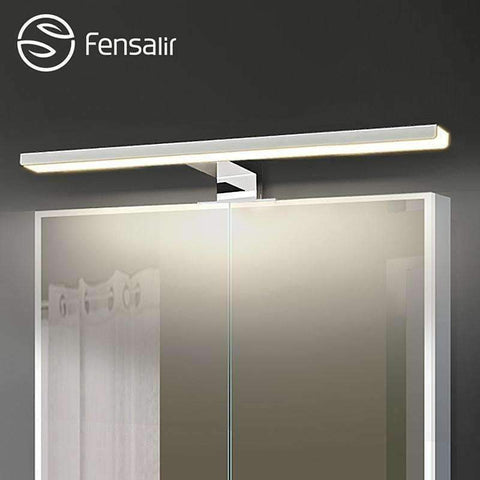 Planet Gates Silver / 5W 300mm / Cold white Fensalir 0-15W Dimmable waterproof Aluminum+ABS+Acryl toilet indoor makeup lighting Bathroom fixtures Led light Mirror Wall lamp