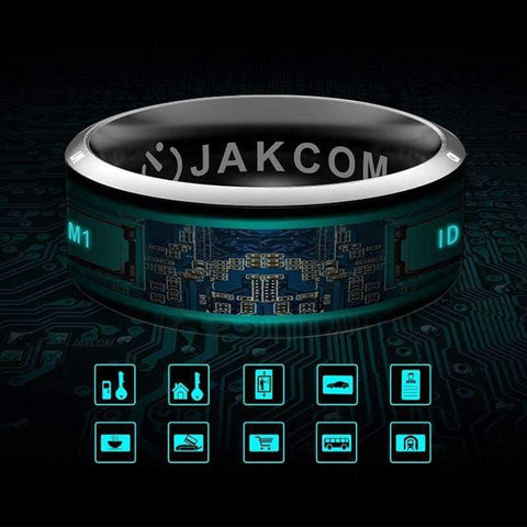 Image of Planet Gates Size 10 / R3 kebidumei Smart Ring Wear Jakcom R3 R3F Timer2 (MJ02) New technology Magic Finger NFC Ring For Android Windows NFC Mobile Phone