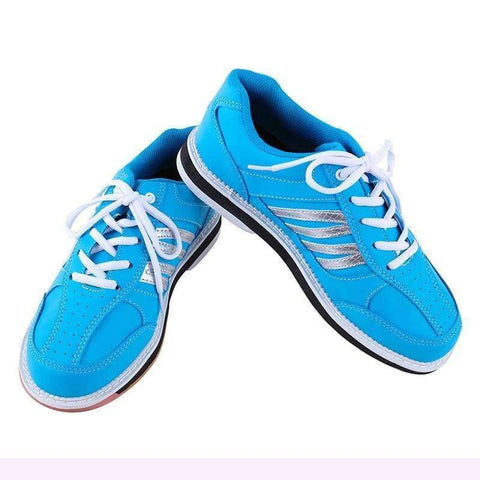 Planet Gates Sky Blue / 4.5 Mens Womens Professional Bowling Shoes Skidproof Mesh Breathable Sneakers  Outdoor Wearable Training Athletic Shoes AA11040