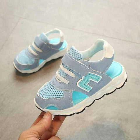 Image of Planet Gates Sky Blue / 6.5 European new brand fashion baby girls boys shoes high quality kids sneakers classic light breathable children shoes