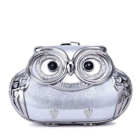 Image of Planet Gates Sliver / Mini TOMBARBAR Luxury Handbags Women Bags Designer Bolsa Feminina Mini Clutch Bag owl Evening Bags Women Messenger Bags TM-EB201605